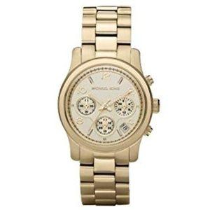 Michael Kors Runway Chronograph Gold Watch